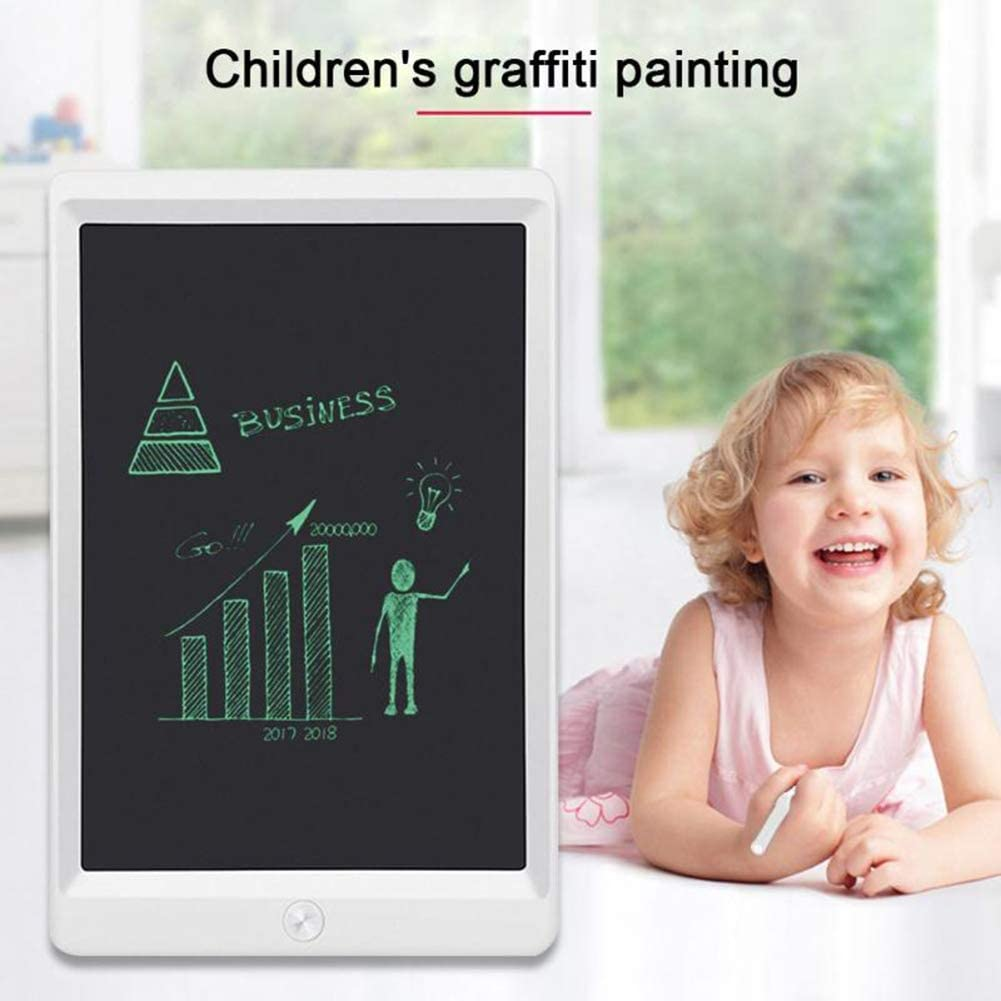 10-Inch Ultra-Thin LCD Writing Board Wipe Repeated Use Donteec Message Board Digital Tablet Drawing Tablet Childrens Doodle Hand-Painted Board,Black