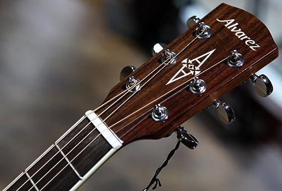Alvarez Artist ad66cesb Guitarra Eléctrica y Acústica, Cutaway Solid ...