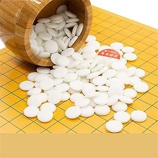 Dfghbn Go Set with Reversible Bamboo Go Board e Include Bowls And Stones 2 Player Classico Gioco da Tavolo di strategia Cinese (Colore, Dimensione : 46cm*43cm*3cm)