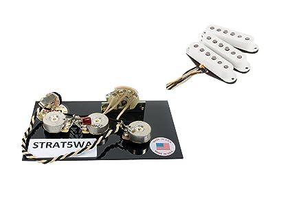 amazon com fender custom shop 54 stratocaster guitar pickup set w rh amazon com