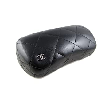 5bdd3cb7c5d Amazon.com  Chanel Sunglass Case -- Black  Health   Personal Care
