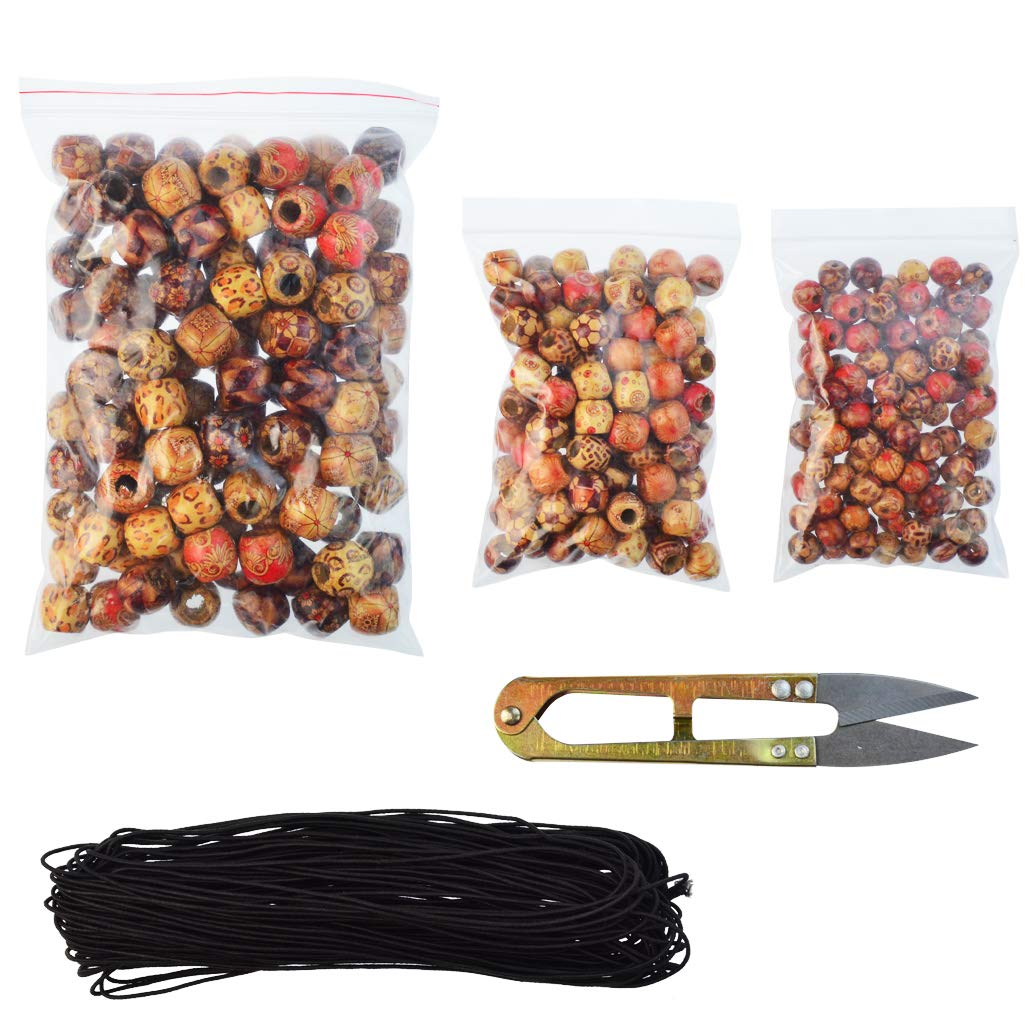 One  Big Bag of Wonderfully Designed Wooden Beads!