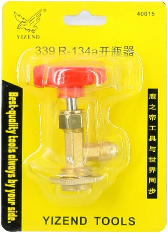 Autool Can Tap Refrigerant Bottle Opener 338 For R-12 R-22 R-600A Refrigerant Tool