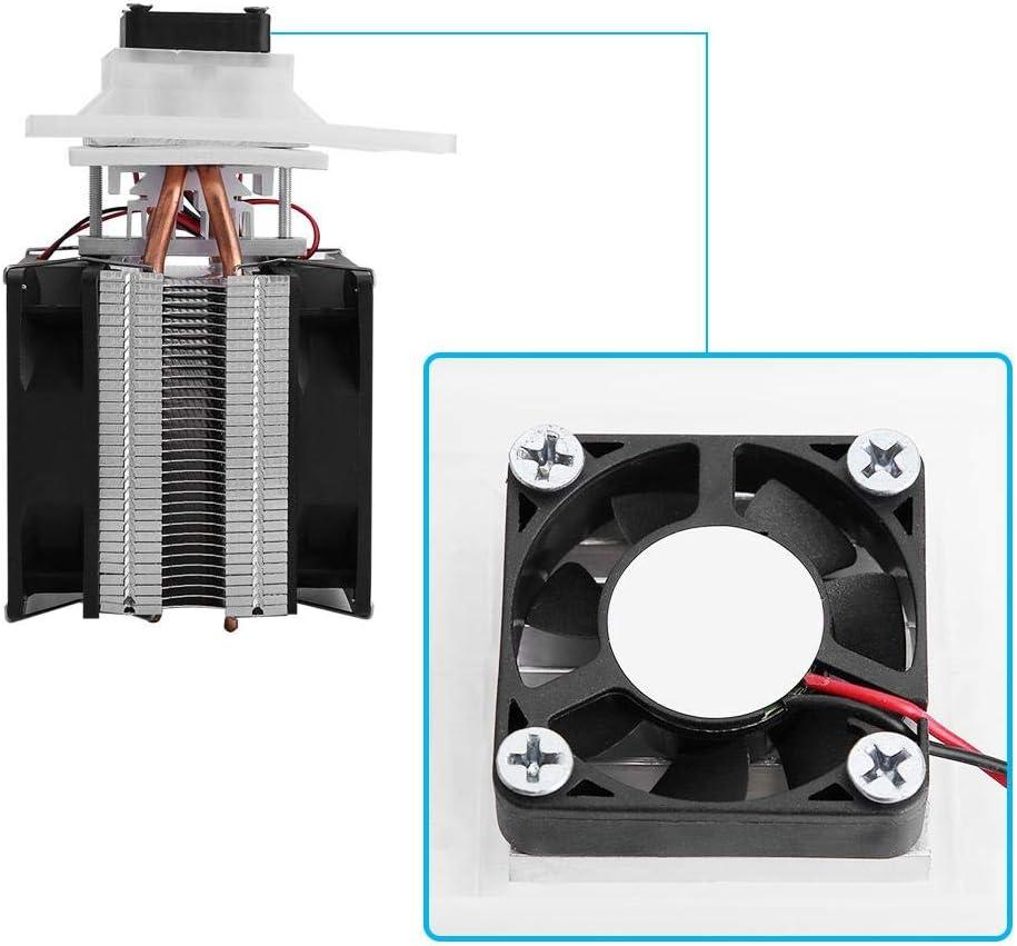 12V DIY Air Cooling Dehumidification Equipment 72W Semiconductor Refrigeration System Yosooo Semiconductor Refrigeration Cooler Module