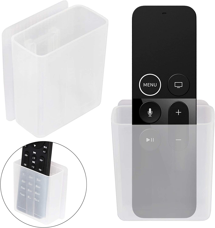 Pinowu - Soporte universal para mando a distancia, organizador de medios de montaje en pared, caja de almacenamiento autoadhesiva, accesorios de oficina: Amazon.es: Electrónica