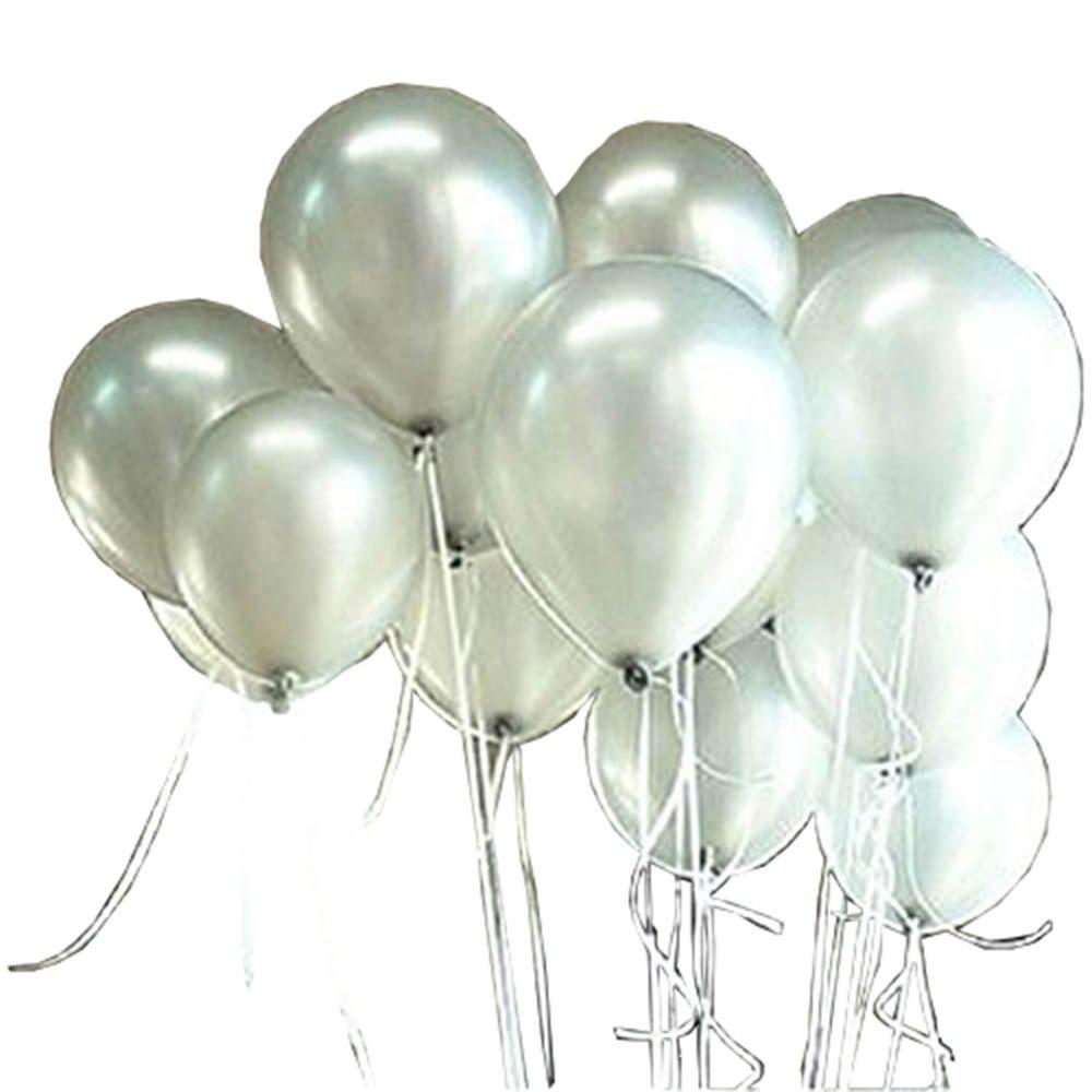 Sachet de 100 Ballons Nacr/és Perle Latex 10pouces Ballons D/écoration pour Anniversaire Mariage Soir/ée Partie