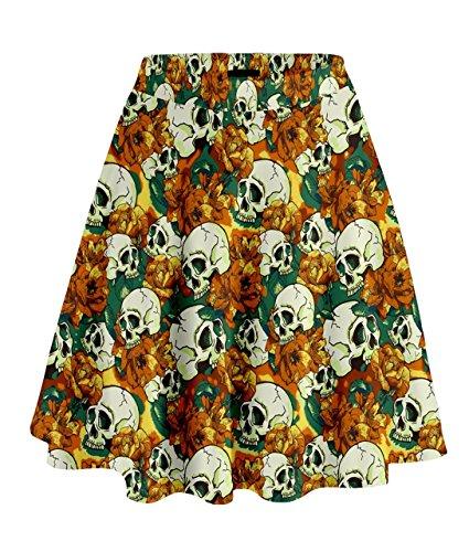 Falda Cowcow Mujer Falda Para Cowcow Naranja Cowcow Para Falda Mujer Naranja Mujer Para xqHtwaC