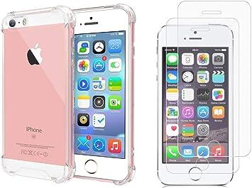 BX Case Funda iPhone 5S / iPhone SE Silicona [ Antigolpes: Amazon.es: Electrónica