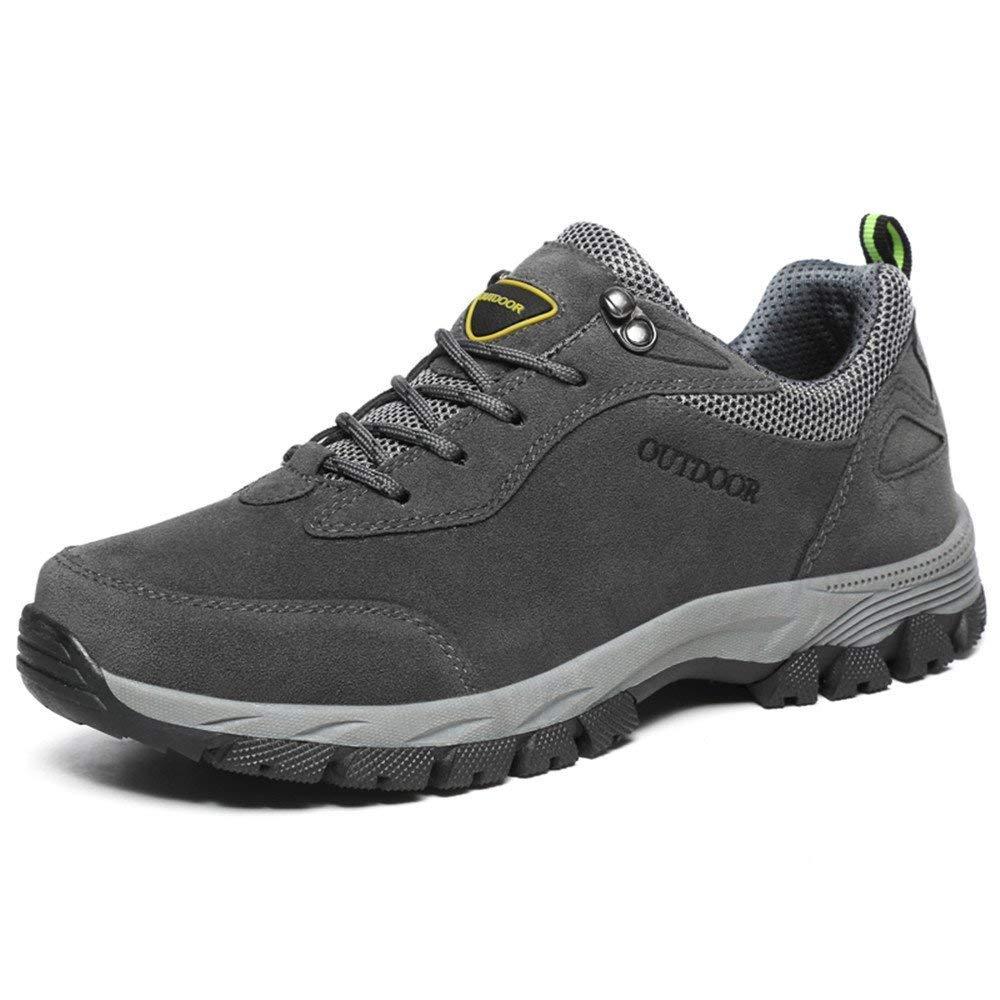 FuweiEncore 2018 Herren Athletic Lace up up up Solid Farbe Verschleißfeste Schuhe (Farbe   Army Grün, Größe   39 EU) (Farbe   Grau, Größe   48 EU) 55095d