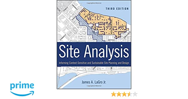 Amazon Site Analysis Informing ContextSensitive and – Site Planning And Design Handbook