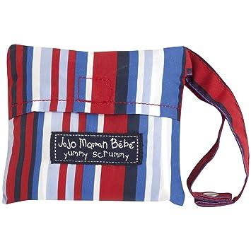 7d8eb9517b Amazon.com : JoJo Maman Bebe Pack-Away Pocket Highchair, Blue/Red : Baby