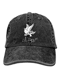 c055af13a95 HJST LIL-PEEP Unisex Baseball Cap Dad Adjustable Hat Denim Washed