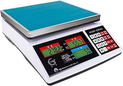 ZCY 0.1G Alta Precisión 15 Kg Escala Electrónica - 30kg Industrial ...