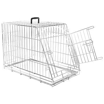 Generic G - Caja de Transporte para Cachorros y Perros, con Jaula ...