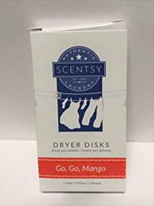 Layers by Scentsy Dryer Disks (Go, Go, Mango)