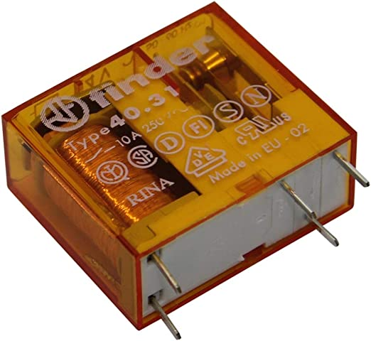 Finder 46.61.8.230.0040 230V Relay SPDT AC 16A 46.61 Miniature