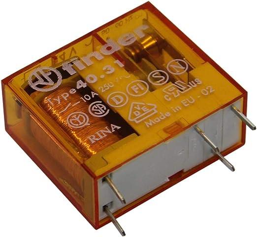 Finder 46.61.8.230.0040 230V Relay SPDT AC 16A 46.61 Miniature