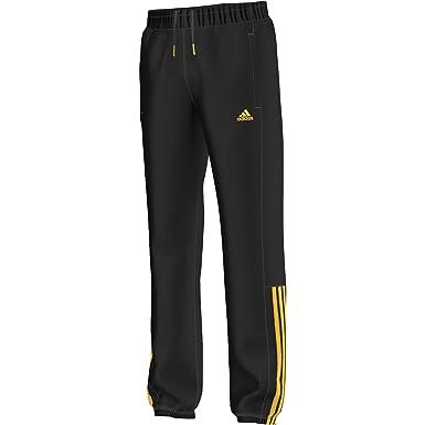 adidas YB ESS M3S S Pc - Pantalón para niño, Color Negro/Dorado ...