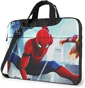 SPI-Der-Man 13/14/15.6 Inches Laptop Shoulder Messenger Bag Briefcase- Shockproof Foam Computer Protective Bag