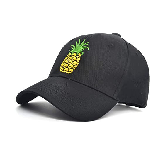 00616fc2cb3aa melitop005 Pineapple Dad Hat Baseball Cap Sun Cap Cotten Quick-Drying Snapback  Adjustable Outdoor Sports