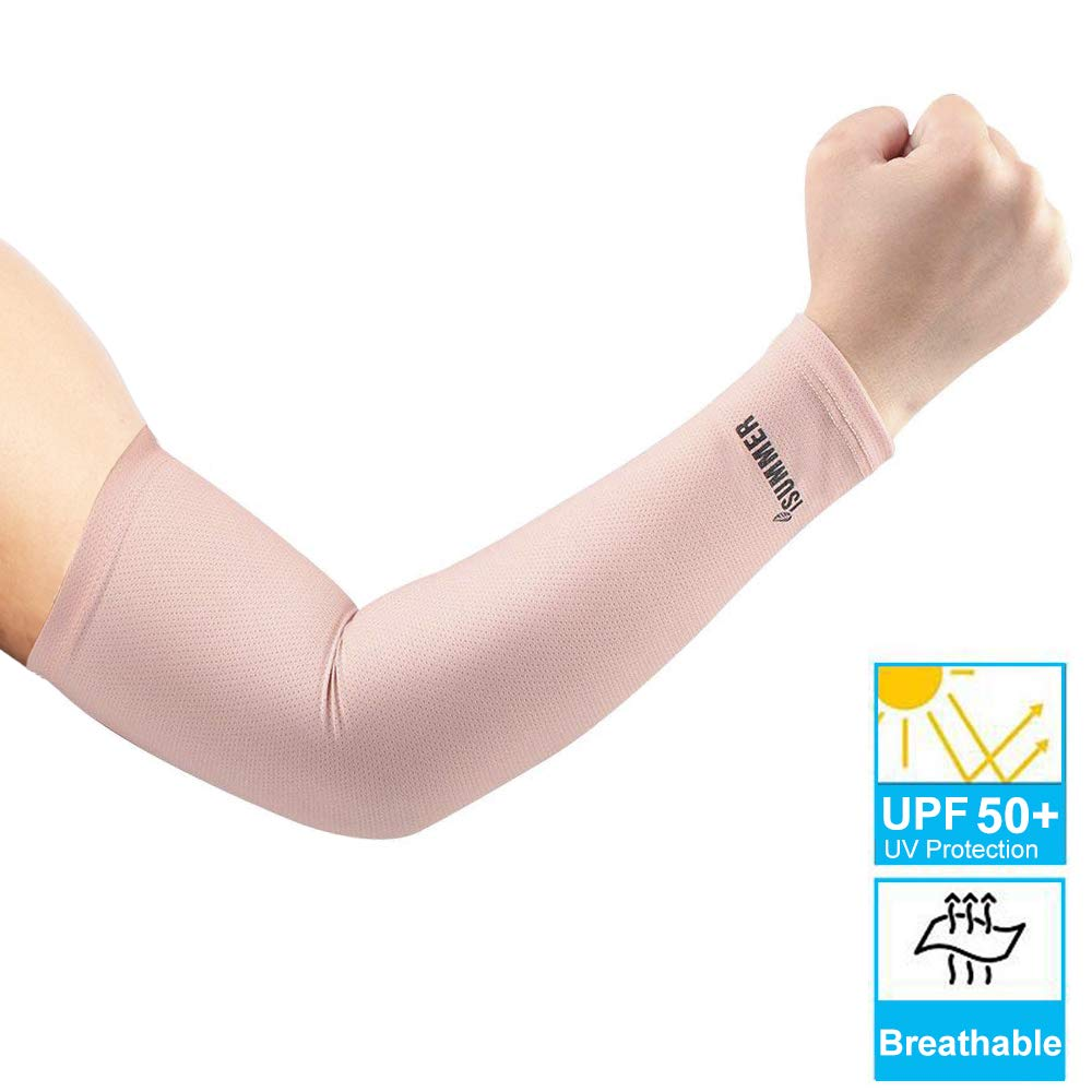 Compression Arm Sleeves UV Protection Running Sports Driving Cycling Arm Warmers