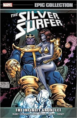 amazon com silver surfer epic collection the infinity gauntlet