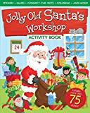 Jolly Old Santa's Workshop Activity Book, Traditional, 0824956656