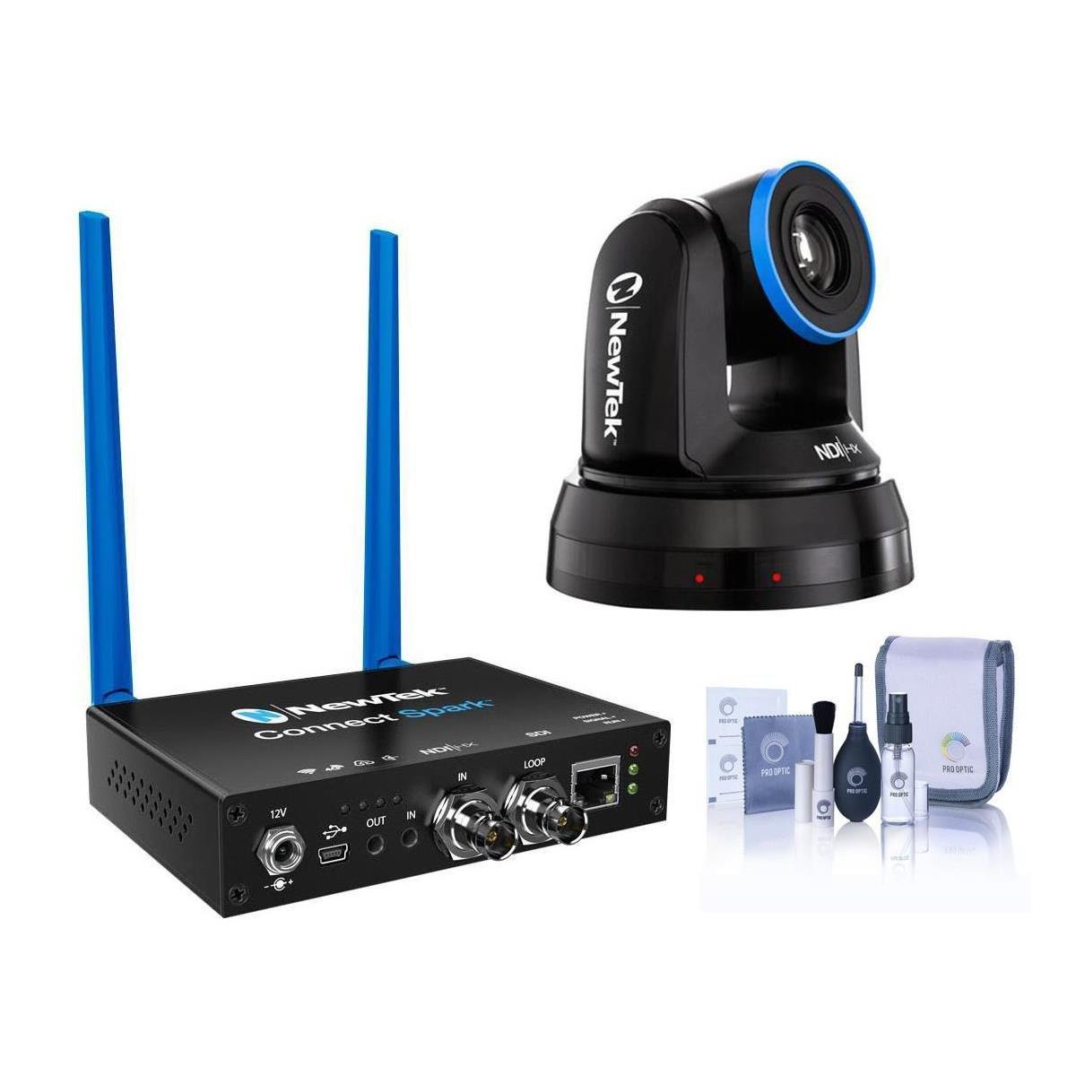 NewTek NDIHX-PTZ1 NDI PTZ Camera - With NewTek Connect Spark SDI, Cleaning Kit by NewTek (Image #1)