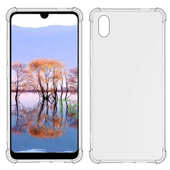 TIYA Case Clear for Huawei Y5 2019 Honor 8S TPU Four Corners Cover  Transparent Soft