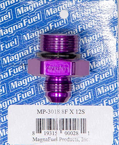 12AN O-Ring Male Adapter Fitting MagnaFuel MP-3018-8AN to