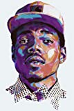 Amazon Price History for:Chance the Rapper Acid Rap poster 36 inch x 24 inch / 20 inch x 13 inch