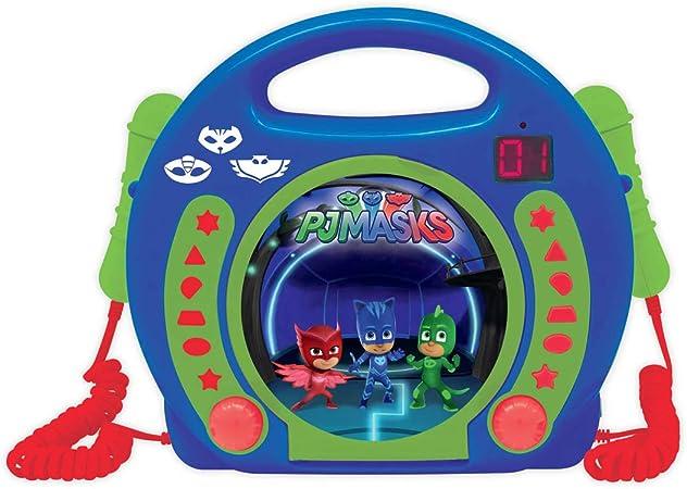 LEXiBOOK RCDK100PJM PJ Masks CD Player Microp