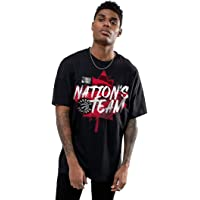 NBA Toronto Raptors Nation's Team Men's Black Basketball T-Shirt