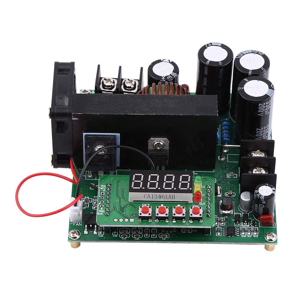 Step up Module, Asixx 900W DC High Precise Control Boost Converter Step up Voltage Converter DIY Voltage Step up Module Regulator by Asixx (Image #1)