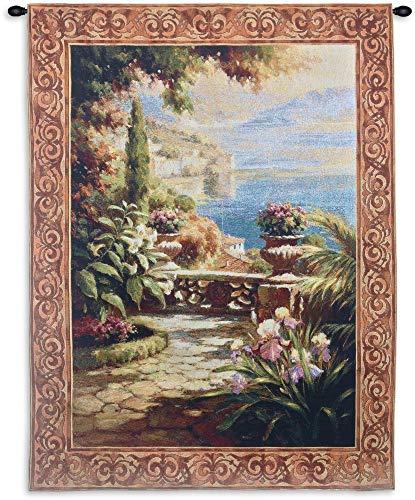 Terrazzo I Wall Tapestry (Silk Wool Tapestry)