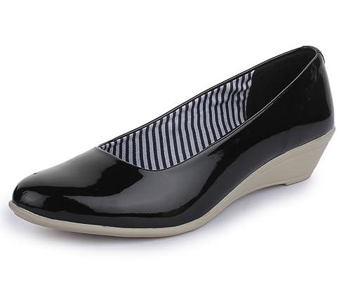TRASE Women \u0026 Girls' Black Formal Shoes