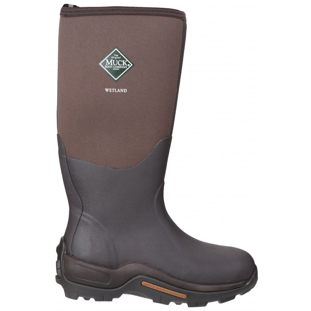The Original Muck Boot Company Wetland Men's Boots 9 US Brown by Muck Boot (Image #5)
