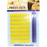 BakeWarePlus Alphabet Letter and Number Cookie Biscuit Stamp Embosser Cutter Mold Kit