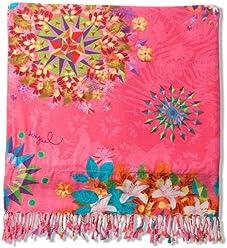 Desigual Towel Pink Galactic 18SABW04