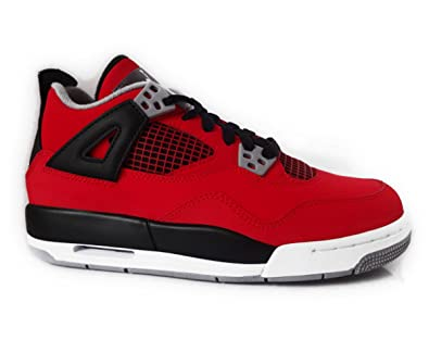 fdc4141e554c Image Unavailable. Image not available for. Color  Jordan Air Jordan Big  Kids 4 Retro ...