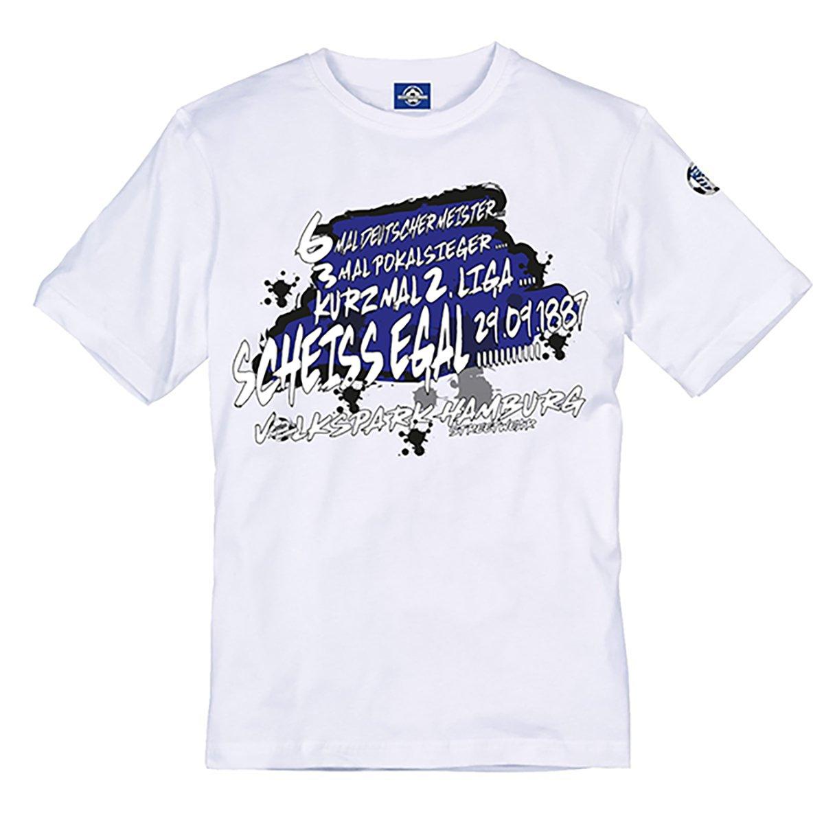 Volkspark Hamburg Streetwear Herren Shirt Kurz mal 2 Liga