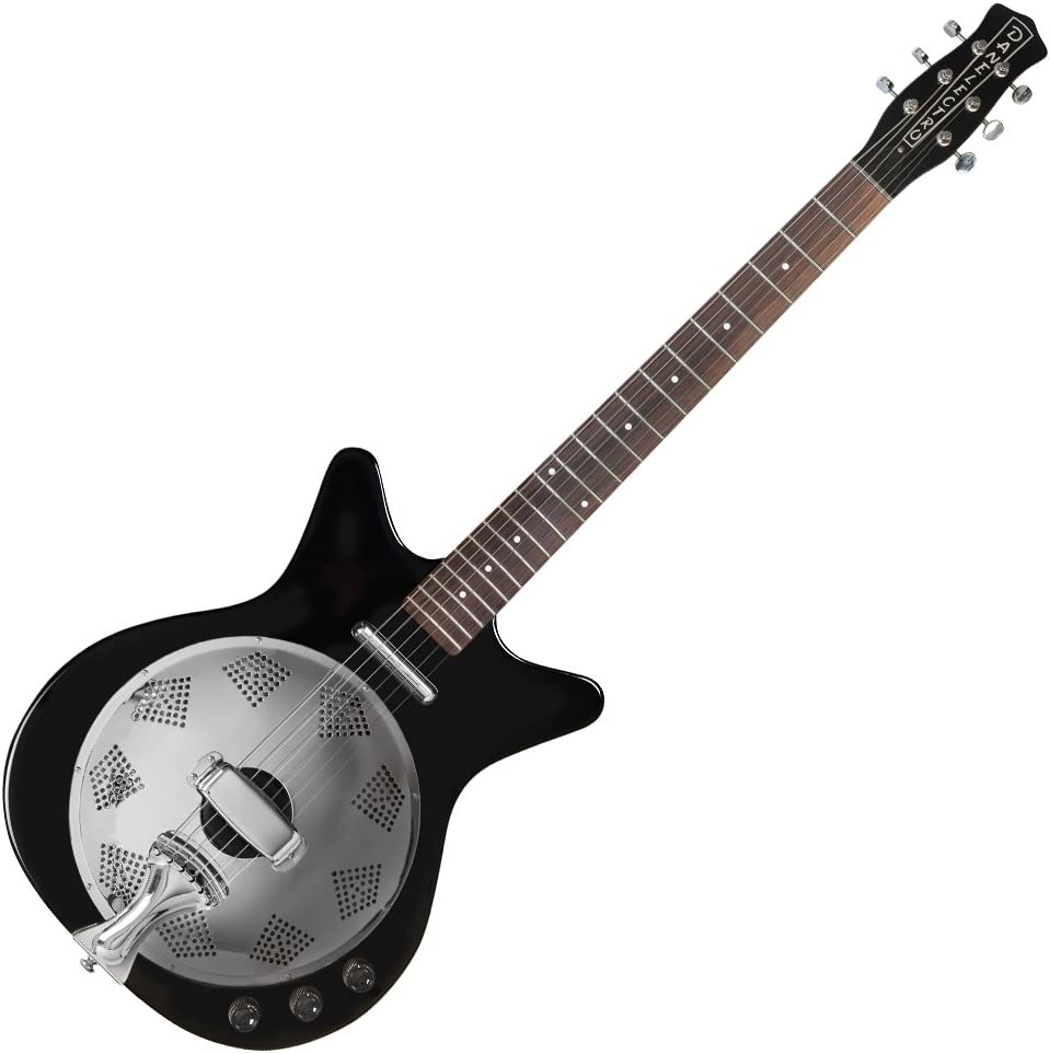 Danelectro 59 - Guitarra eléctrica resonadora, negro: Amazon.es ...
