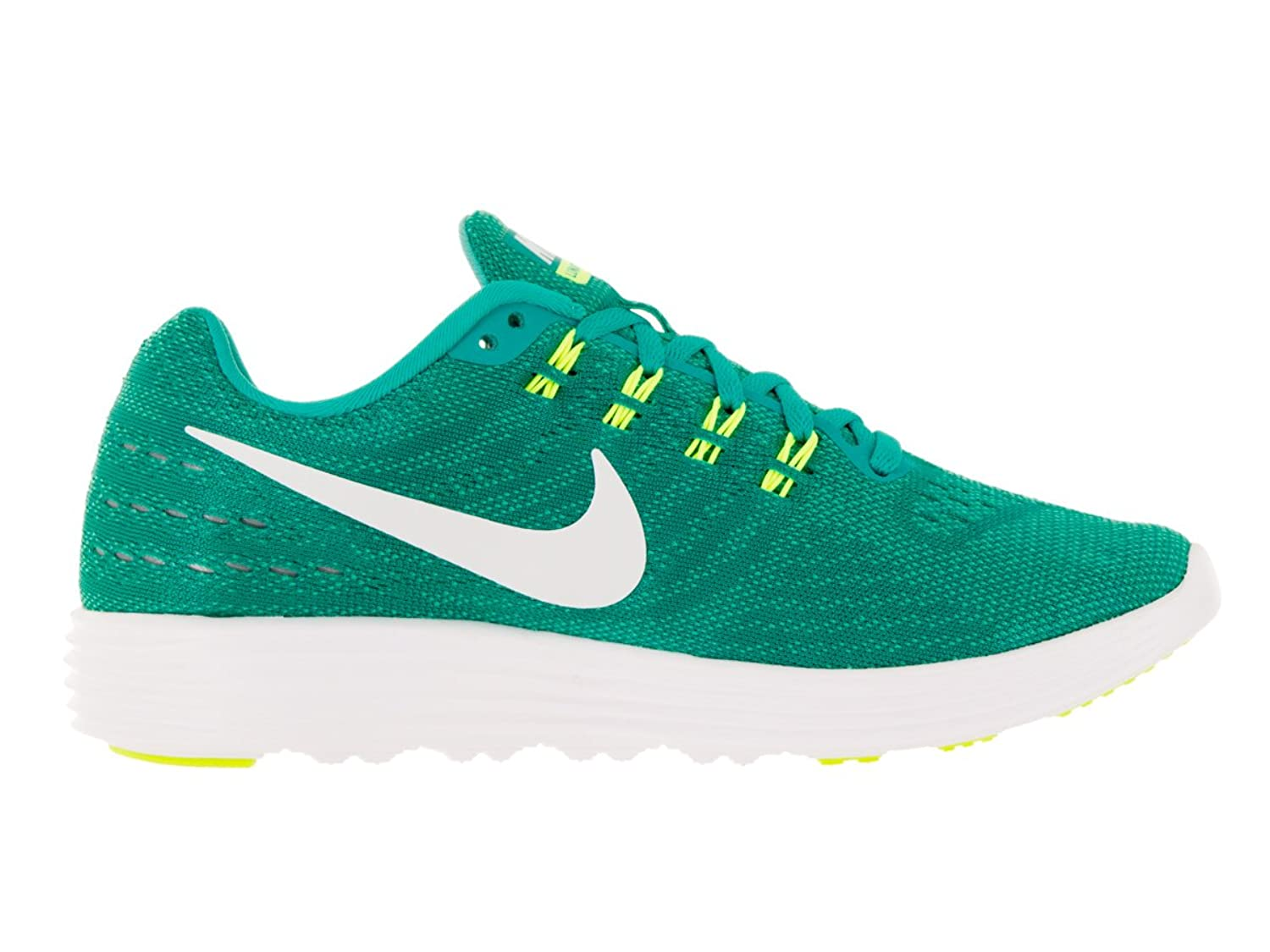 Amazon.com | NIKE Womens Lunartempo 2 Clear Jade/White Hypr Jade VLT Running Shoe 10 Women US | Road Running