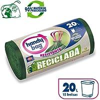 Handy Bag Bolsas de Basura 20L, 90% Reciclado