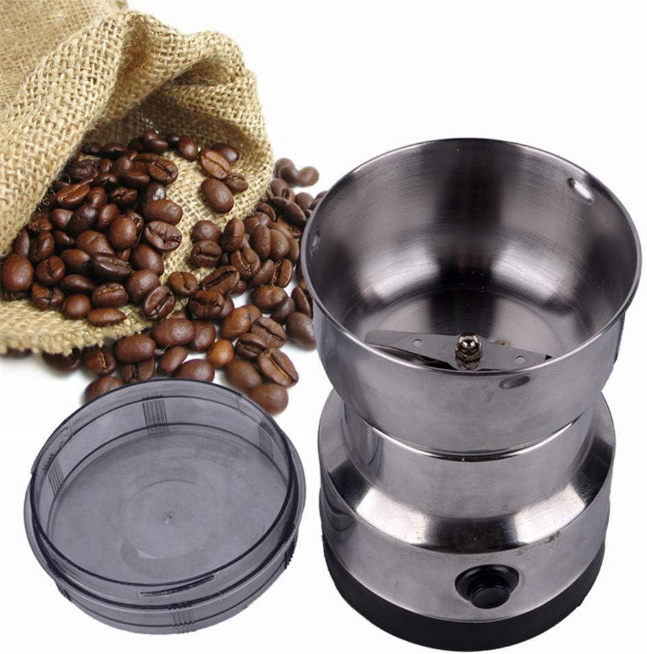 Le moulin /à grains /électrique de caf/é dacier inoxydable /épice des /épices de m/énage de machine-outil de meulage