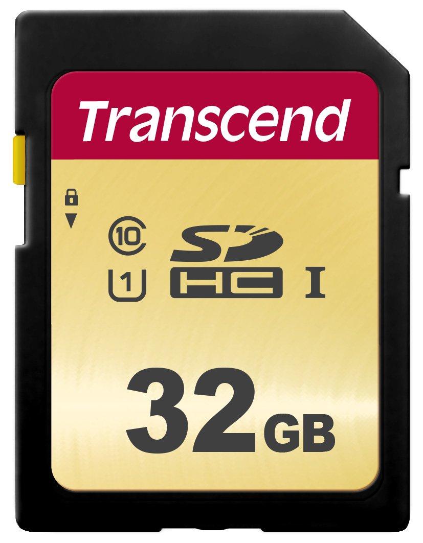 Transcend SDC500S - memoria SD de 32 GB, chip MLC, SDHC, Clase 10 ...