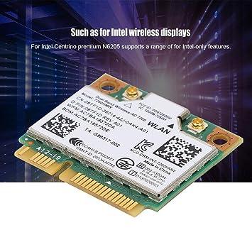 para Intel 7260HMW Tarjeta de Red Universal Bluetooth4.0 ...