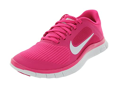 official photos ffa05 c8e08 Nike Free Run 4.0 V LAW Women Running Shoes. Color  Pink White 580406