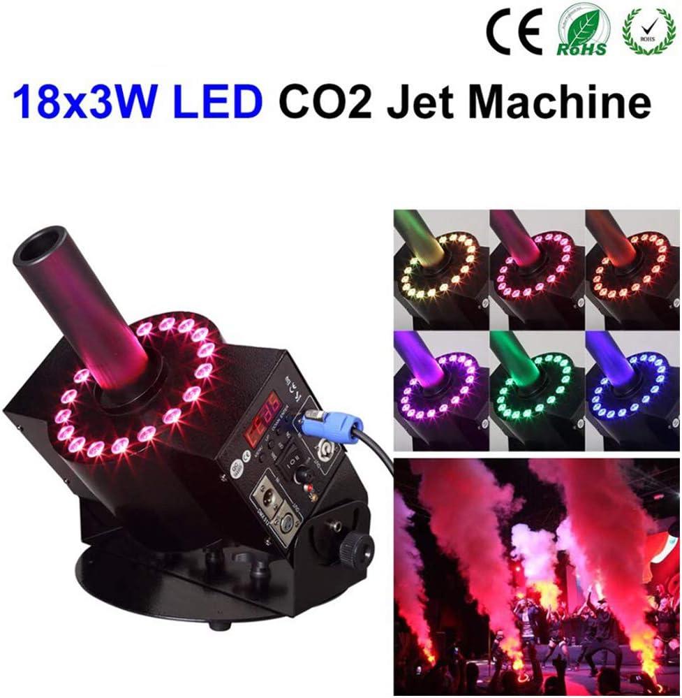 XCHUNA La Niebla de Humo Máquina de CO2 Jet máquina DMX 512 de la Etapa de Control eléctrico Efecto de CO2 Jet máquina de la Niebla del Aerosol 8-10 Metros fría Humo del CO2 Máquina