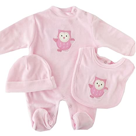 NUEVO | Pelele Pijama | Mono búho rosa | 50 56 62, 68 negro negro